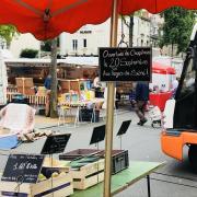 stand du marché place la fayette